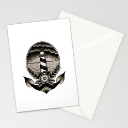 Traditional Lighthouse Stationery Cards