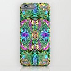 Ridged Patterns 2 B iPhone 6s Slim Case