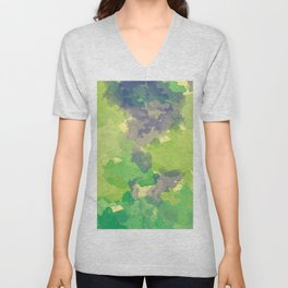 Abstract painting X 0.4 Unisex V-Neck
