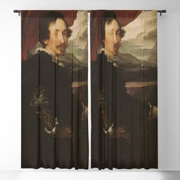 Anthony van Dyck - Portrait of Lucas van Uffelen Blackout Curtain