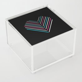 Transcend Neon Heart Acrylic Box