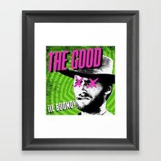 !Il Buono! Framed Art Print