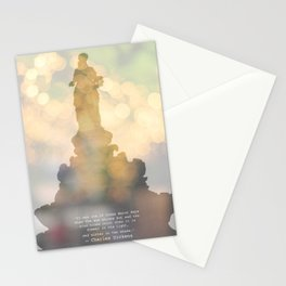 I stand tall.. Stationery Cards