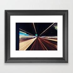 Rays.  Framed Art Print