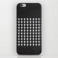 You Plus Me Chalkboard iPhone & iPod Skin