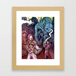 Space-Marine Framed Art Print