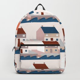 A house by the sea Backpack