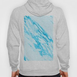Blue and Cream Marble Pattern Hoody