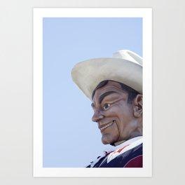 Big Tex 3 Art Print