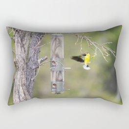 American Goldfinch 2 Rectangular Pillow