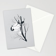 North For The Winter (Gray). Stationery Cards