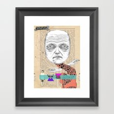 My life with men... Framed Art Print