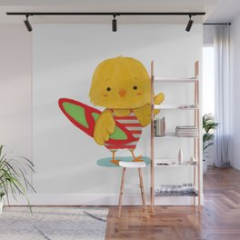 Surf Bird Wall Mural