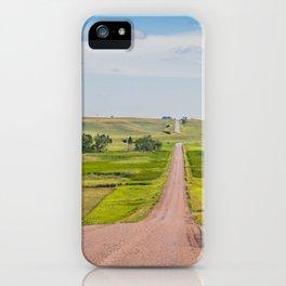 Country Road, Turtle Lake, North Dakota 2 iPhone Case