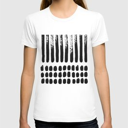 November Forest abstract pattern T-shirt