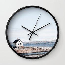 Fisherman House Wall Clock