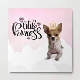 The Little Princess Metal Print