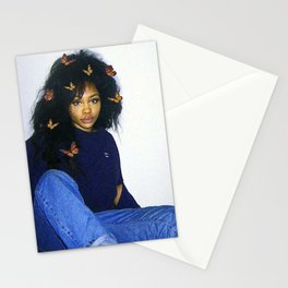 butterfly sza Stationery Cards