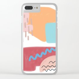 Wall of Wonders Clear iPhone Case