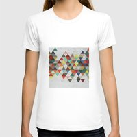 xbox T-shirts featuring Colorful Triangles by Dizzy Moments