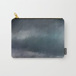Blue Stormy Sea Carry-All Pouch
