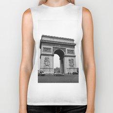 Arc de Triomphe Noir Biker Tank