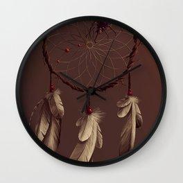 Poisoned dreams Wall Clock