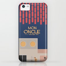 Mon Oncle - Jacques Tati Movie Poster, classic French movie, old film, Cinéma français, fun, humor iPhone 5c Slim Case