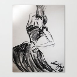 Drawing 2 Canvas Print