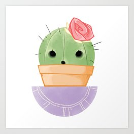 Prickly Pot Art Print