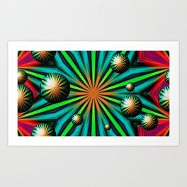 Magical Balls Art Print