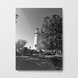 Lighthouse... Metal Print