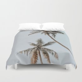 two palm trees Duvet Cover
