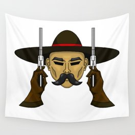 The Working Man  Wall Tapestry