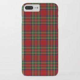 The Royal Stewart Tartan iPhone Case