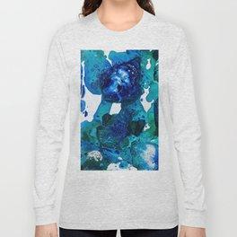 Polar Bear Swim, Environmental Tiny World Collection Long Sleeve T-shirt