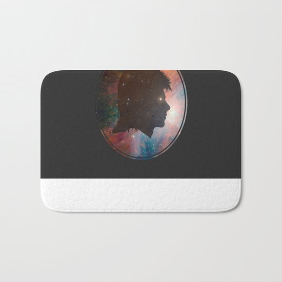 A Space Oddity Bath Mat