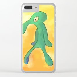 High Res Bold and Brash Repaint Clear iPhone Case