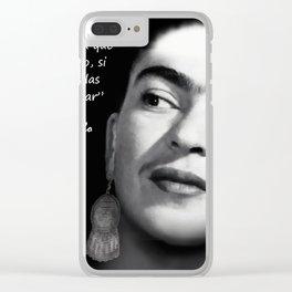 FRIDA , ALAS Clear iPhone Case