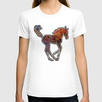 pony T-shirts featuring Pony by evisionarts