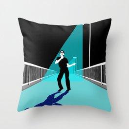 ShadowPlay Epping Walk Bridge Edition Throw Pillow