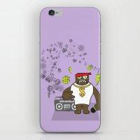 rap iPhone & iPod Skins featuring Gangst@#Rap by Saar Gil
