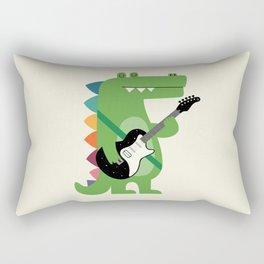 Croco Rock Rectangular Pillow