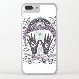 Make Magic Clear iPhone Case