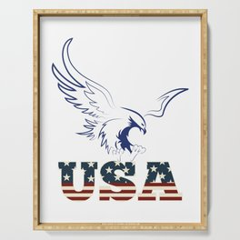 American Eagle holding usa Serving Tray