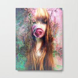 Budding Metal Print