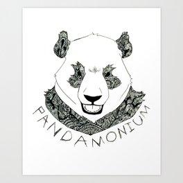 PANDAMONIUM 1 Art Print