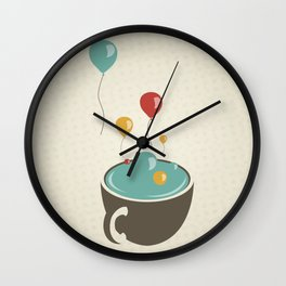 Feliz Desaniversário! (Happy Unbirthday) Wall Clock