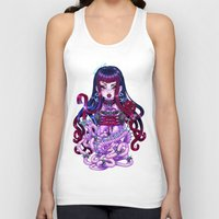 goth Tank Tops featuring Goth Penanggalan by Gunkiss