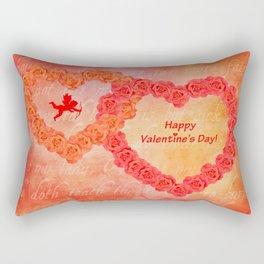 Who Loves You Rectangular Pillow